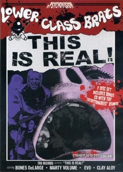 Lower Class Brats: This is real DVD + CD